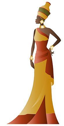 African Beauty, African Women, African Fashion, Ankara Fashion, African Style, African Drawings, African Art Paintings, Black Woman Silhouette, Silhouette Art