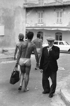 Henri Cartier-Bresson // France, Corsica 1969. Bonifacio