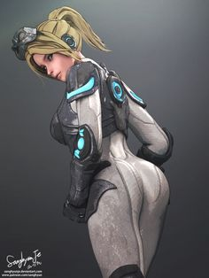 Nova Terra by SanghyunJe.deviantart.com on @DeviantArt - More at https://pinterest.com/supergirlsart/ #starcraft #starcraft2 #sc #sc2 #ghost #sniper #sexy #fanart #nova #covert #ops #covertops