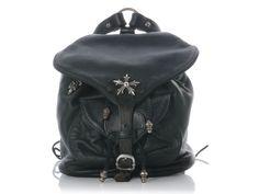 Chrome Hearts -- Black Mini Backpack