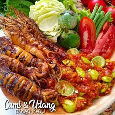 Simple recipes for special daily menus - Simple recipes for special daily menus. Squid Recipes, Seafood Recipes, Cooking Recipes, Asian Recipes, Healthy Recipes, Ethnic Recipes, Simple Recipes, Mie Goreng, China Food