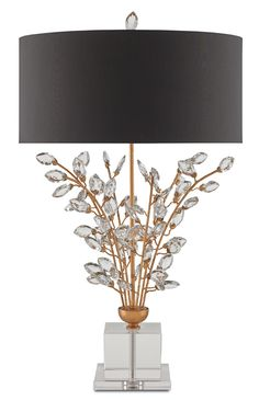 Forget-Me-Not Table Lamp design by Currey & Company