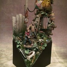 The Last of Us | Figurine, hand-painted video game statue, Naughty Dog, #geek