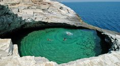 I would love to escape to this place.Limenaria - Thassos, Greece // #escape #travel #Greece