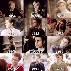 Stefan Salvatore over the ages