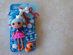 LaLa Loopsy Sailor girl iPhone 4/ 4s decoden by yelenasCraftsXO, $48.00