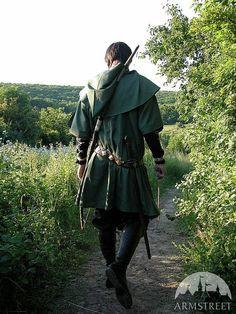 Bowman Archer Elven Tunic Surco Medieval Fantasy by armstreet Renaissance Clothing, Renaissance Fair, Celtic Clothing, Medieval Fair, Larp, Medieval Costume, Medieval Tunic, Elven Costume, Elven Cosplay