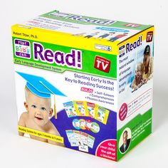 Your Baby Can Read As Seen On TV Kit!  Great Starter Kit - Volumes 1, 2, 3 & 4 + Parent's Guide