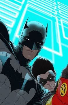 Batman & Robin by Frank Quitely