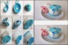 #T24 DIY: Recordatorios de Baby Shower Tejidos a Crochet