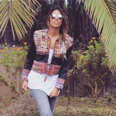 Todos los detalles en www.loquemoladelola.com !!  #jacket #swag #smile #style #spring #stylish #shooting #ethnic #tbt #trend #trival #itgirl #ootd #outfit #look #love #leather #loquemoladelola #post #photooftheday #moda #nice #blog #bloggers #blogerstyle #chic #chaqueta #colorful #amazing #all_shots