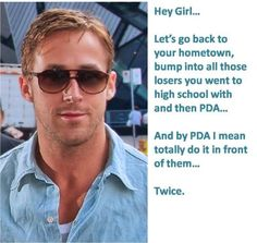 Ryan Gosling FINALLY Cuts to the Chase...he wouldn't be my first choice...but I like the IDEA of it.