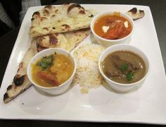 Yummy Thali @ Clay and Coal Indian restaurant, Adelaide