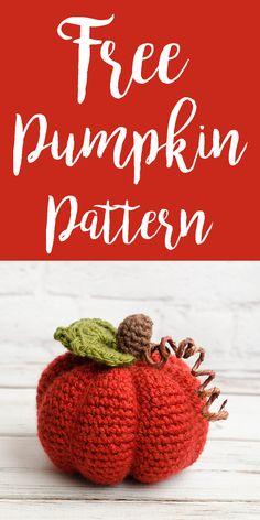 Medium Crochet Pumpk