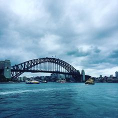 So the iconic Sydney Harbour Bridge is smaller than I expected or maybe it was the cruise ship parked up next to that looked twice the size of the bridge that didn't help. #bluewater #sydneyharbour #sydneyharbourbridge #feellikeatourist #enjoyingmyself #touristy #greatweather #greatviews #relaxing #stroll #somethingnew #intrainsit #flyingvisit by jessicacooperdesign http://ift.tt/1NRMbNv