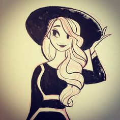 #inktober number one!