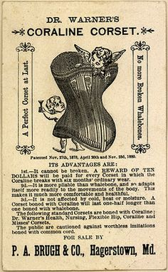 Corsets were worn in past societies. They were best-known for accentuating the famous hourglass silhouette. Corsets are worn for fashion. Vintage Ephemera, Vintage Ads, Vintage Prints, Vintage Sewing, Vintage Clip, Vintage Posters, Vintage Clothing, Vintage Fashion, Corset Vintage