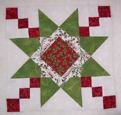 Quilting on Main Street: Ohio Star Variation - Test Block