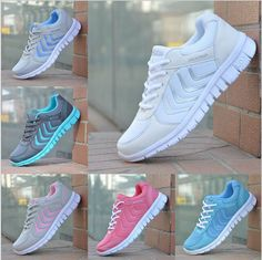 56fdf717d659 Running Trainers Women s Walking Shock Sports Fashion Shoes Size Courses