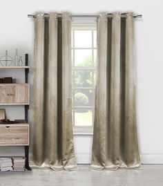 Tegan curtains in Taupe by Duck River Textile