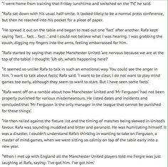 Never take on Fergie - Fact! #MUFC