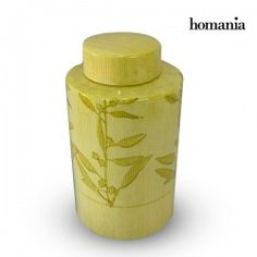 Tibor Stoneware Yellow (11 X 11 X 20 Cm) By Homania