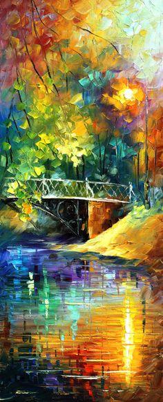 Triptych Paintings Set Aura Of Autumn Set Of by AfremovArtStudio