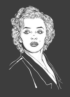 M.M. by ~lafor on deviantART    This image first pinned to Marilyn Monroe Art board, here: http://pinterest.com/fairbanksgrafix/marilyn-monroe-art/    #Art #MarilynMonroe