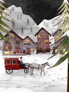 Zermatt - portilloillustration.com