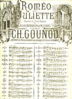 CH.GOUNOD. · ROMEO ET JULIETTE