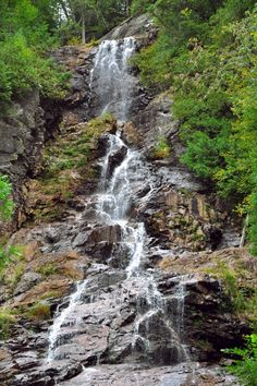 agawa canyon sault sainte marie canada waterfall, by queen of salvation