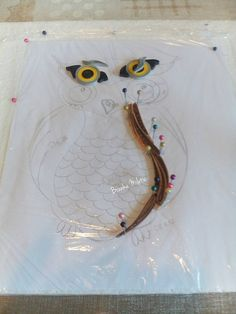 quilling owl, tutorial by Branka Miletic!