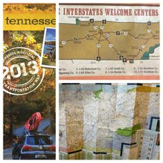 The new 2013 Tennessee maps are available for free!