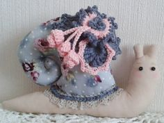 Tilda snail. Soft toy. Interior toy gift of March 8
