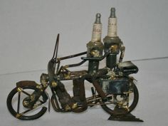 made from Harley spark plugs