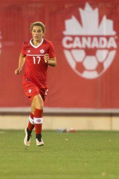 Jessie Fleming, a favor del seleccionado femenino canadiense al Mundial (2015).