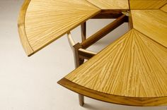 Jonathan Cohen Fine Woodworking - Table Detail #finewoodworking #table