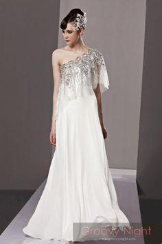 唯一のWhite!!一生に一度の奇跡を貴女に、、ウェディングロングドレス♪ - ロングドレス・パーティードレスはGN|演奏会や結婚式に大活躍!