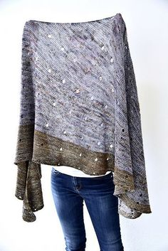 Ravelry: Project Gallery for Dotted Rays pattern by Stephen West Crochet Shirt, Knit Crochet, Crochet Vests, Crochet Cape, Crochet Edgings, Crochet Motif, Shawl Patterns, Knitting Patterns, Knitting Yarn