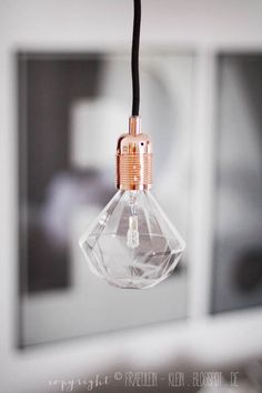 Diamond light bulb, lovely