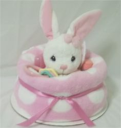 Love this baby blanket cake with bunny and toys. Baby Shower Gifts, Baby Gifts, Bunny Blanket, Auction Baskets, Celebrate Good Times, Baby Shower Centerpieces, Stork, Bake Sale, Gift Baskets