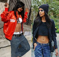 Aaliyah Street Style 90s Urban Urban Jungle Warrior Princess Pinterest Best Aaliyah