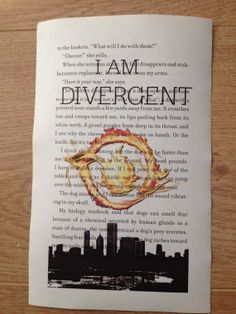 I Am Divergent. Divergent by Veronica Roth Book by ForBookLovers, £2.50