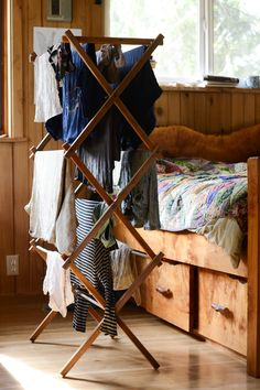 Glamping laundry...