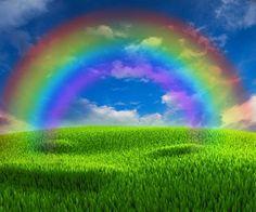 Nice background on the topic of good weather with rainbow Stock Photo , Rainbow Magic, Rainbow Sky, Love Rainbow, Beautiful Sky, Beautiful Landscapes, Beautiful Images, Rainbow Photography, Nature Photography, Best Places To Retire