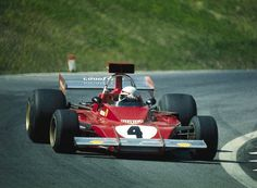 Arturo Merzario su Ferrari 312B3 1973
