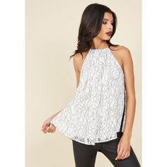 Darling Mid-length Sleeveless Wish Posh Sleeveless Top