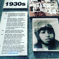 """Bessie Coleman first African-American female pilot and pilot license holder born on this day in 1892 and remembered with other female aviators in the """"Golden Age of Aviation"""" the 1930's at the New Jersey Aviation Hall of Fame. For more information on the source (& Wiki) visit: njahof.org. Open 10-4 Tues.-Sun. next to Teterboro Airport. #BessieColeman #aviation #fly #birthday #family #friends #travel #travelgram #instatravel"""