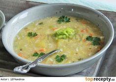 Zasmažená pórková polévka