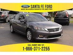 2014 Gray Honda Accord EX-L 37266P